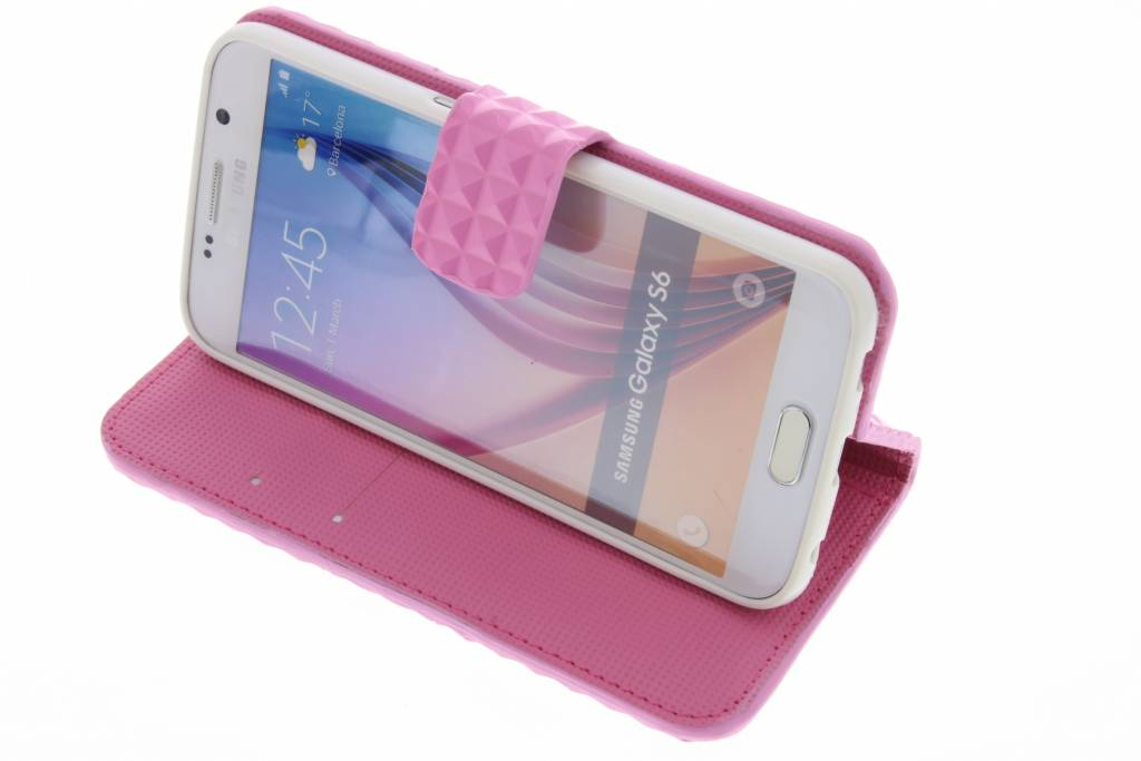 Cas De Tpu Rose Avec Compartiment Pour Samsung Galaxy S6 qJK5HVeA