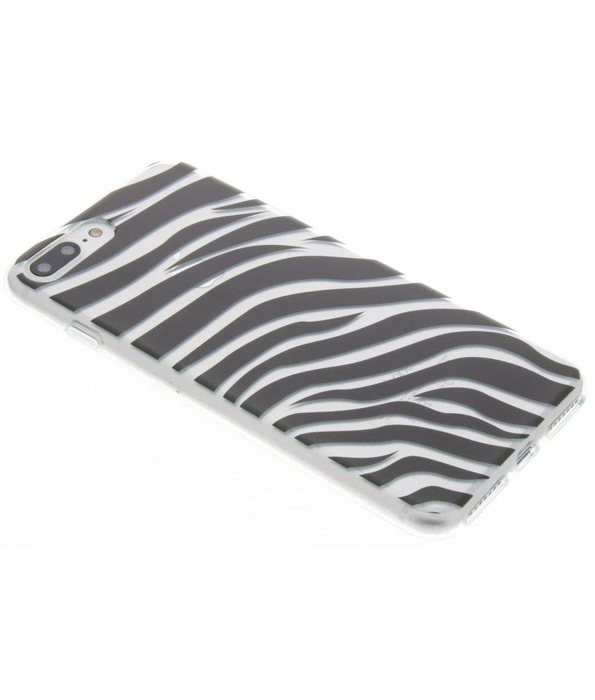 Dierenprint design Zebra TPU hoesje iPhone 7 Plus