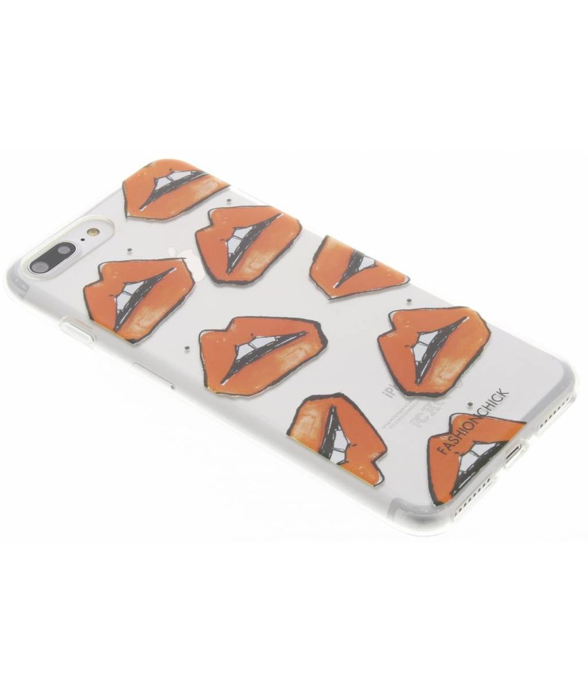 Fashionchick Rockstar Lips Softcase iPhone 8 Plus / 7 Plus