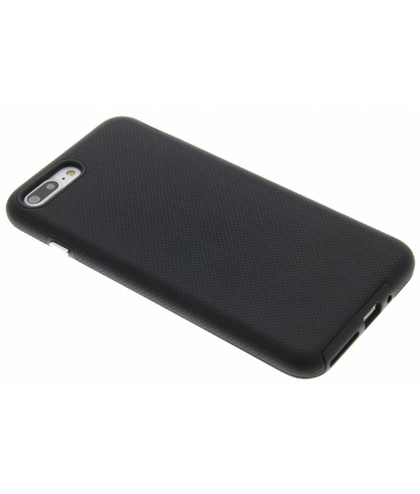 Zwart rugged case iPhone 8 Plus / 7 Plus