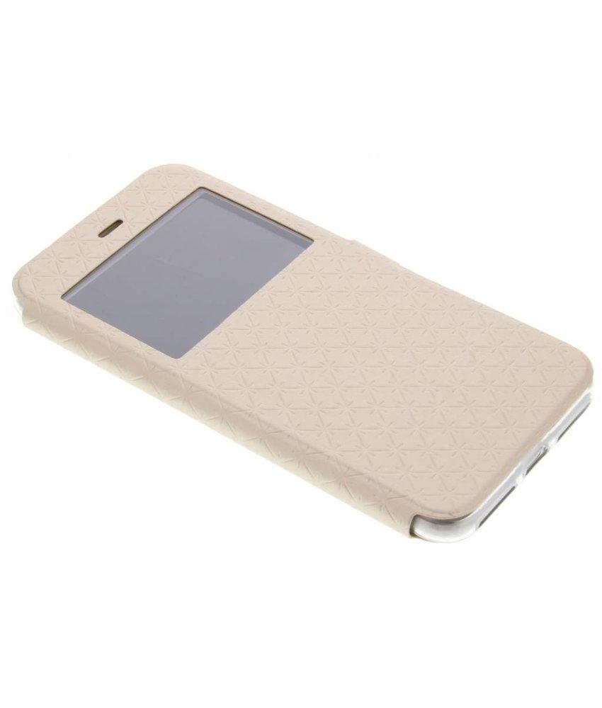 Goud Rhombus hoesje iPhone 8 Plus / 7 Plus