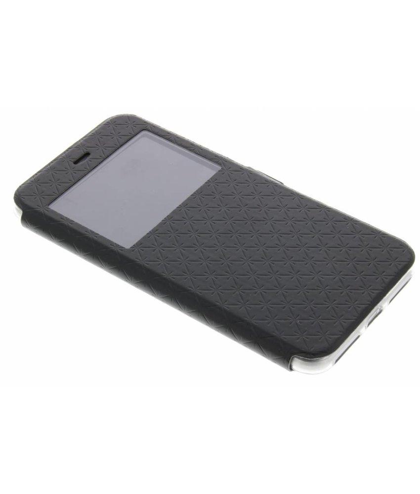 Zwart Rhombus hoesje iPhone 8 Plus / 7 Plus