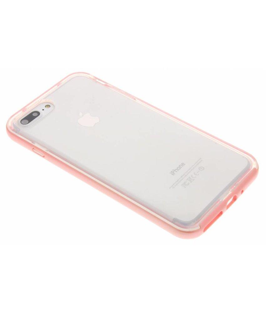 Roze bumper TPU case iPhone 8 Plus / 7 Plus