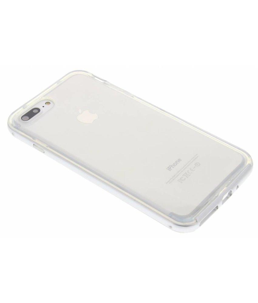 Zilver bumper TPU case iPhone 7 Plus