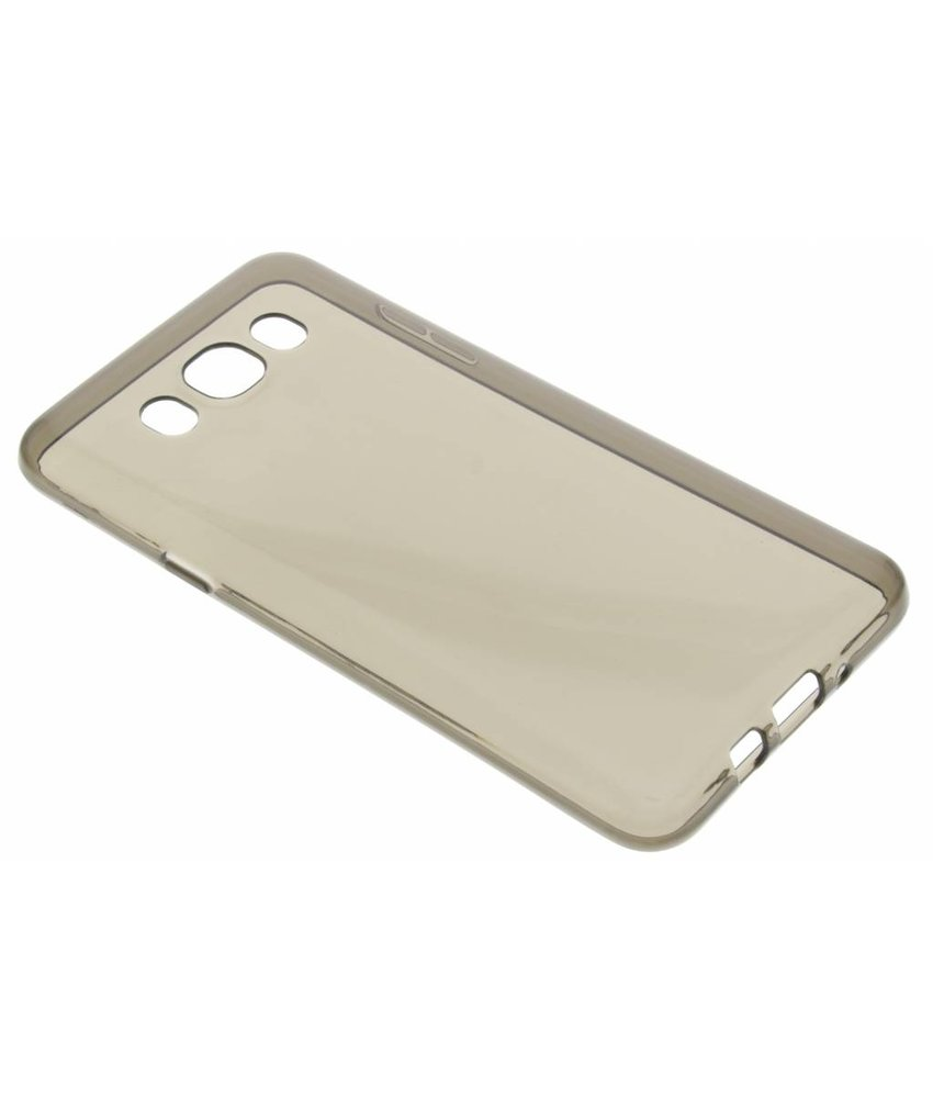 Grijs transparant gel case Samsung Galaxy J7 (2016)