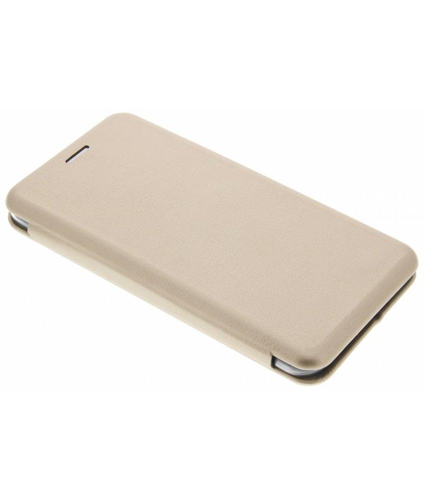 Goud Slim Foliocase Samsung Galaxy J7 (2016)