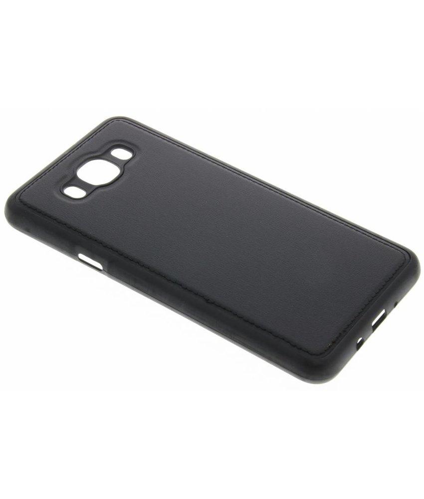 Lederen TPU case Samsung Galaxy J7 (2016)