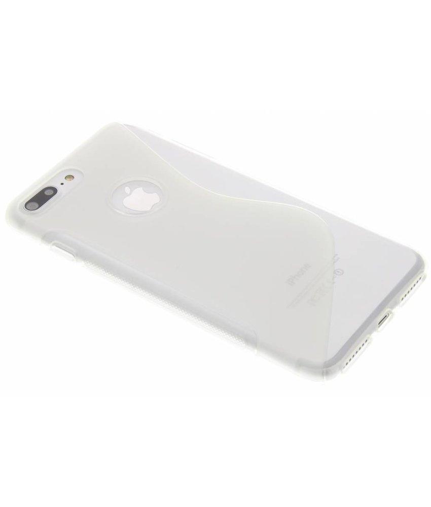 Transparant S-line TPU hoesje iPhone 8 Plus / 7 Plus
