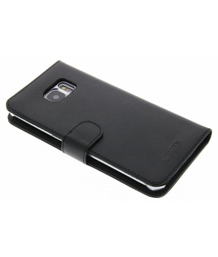Valenta Booklet Classic Luxe Samsung Galaxy S7 Edge - Zwart