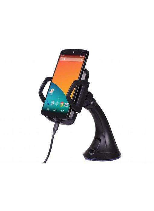 Wireless Charging autohouder met draadloze oplader
