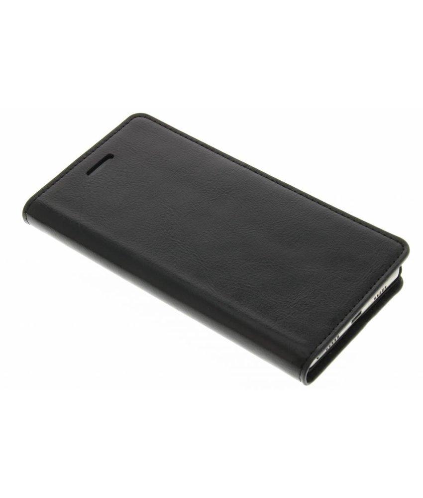 Zwart zakelijke booktype hoes Huawei P8 Lite