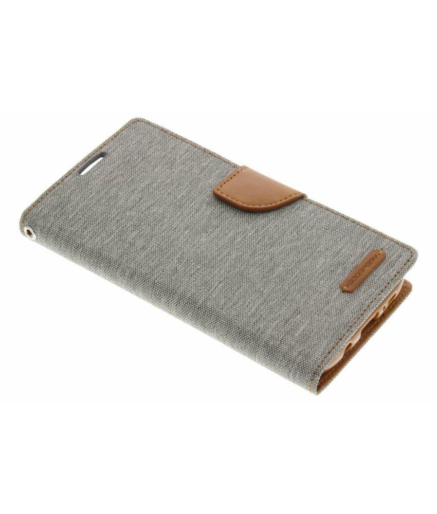 Mercury Goospery Canvas Diary Case Samsung Galaxy S7 Edge