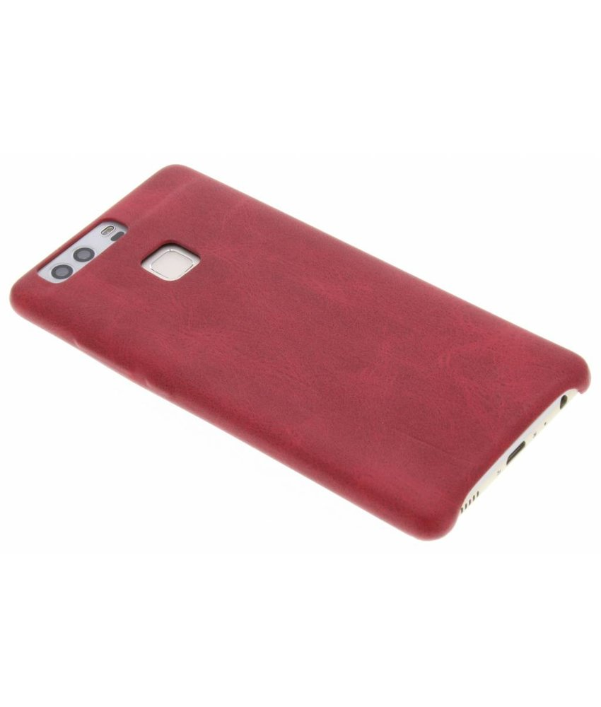 Rood TPU Leather Case Huawei P9