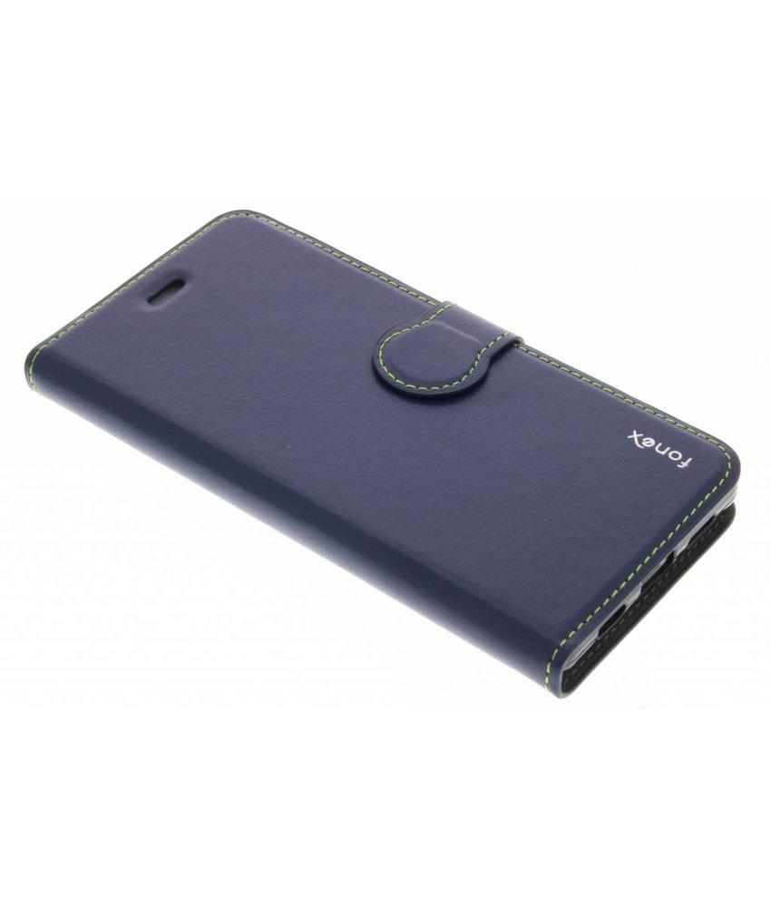 Fonex Identity Bookcase Huawei P8 Lite - Blauw