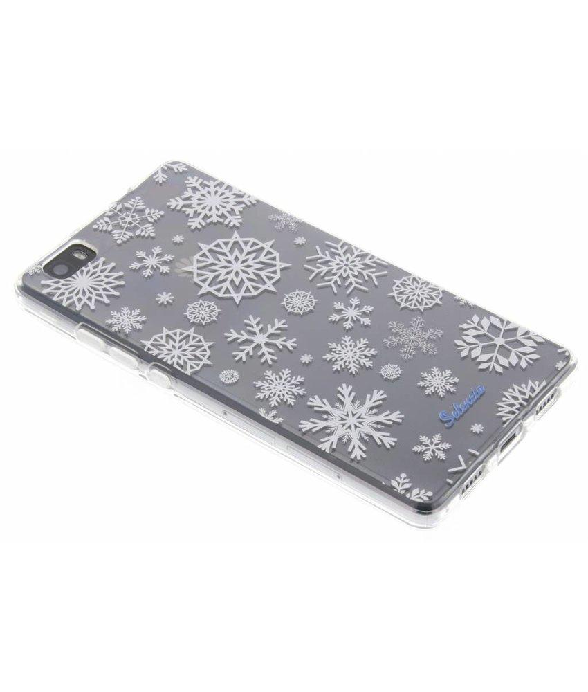 Selencia Winter Wonderland TPU hoesje Huawei P8 Lite