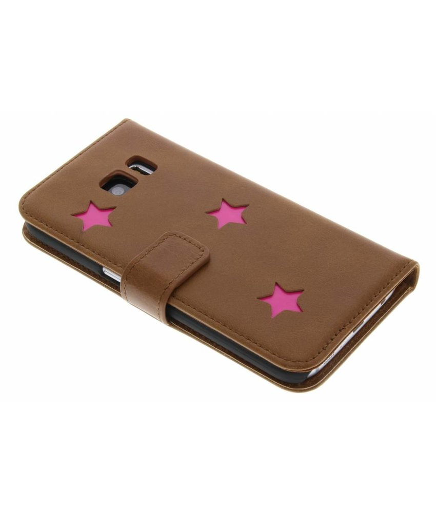 Fabienne Chapot Pink Reversed Star Booktype Samsung Galaxy S7