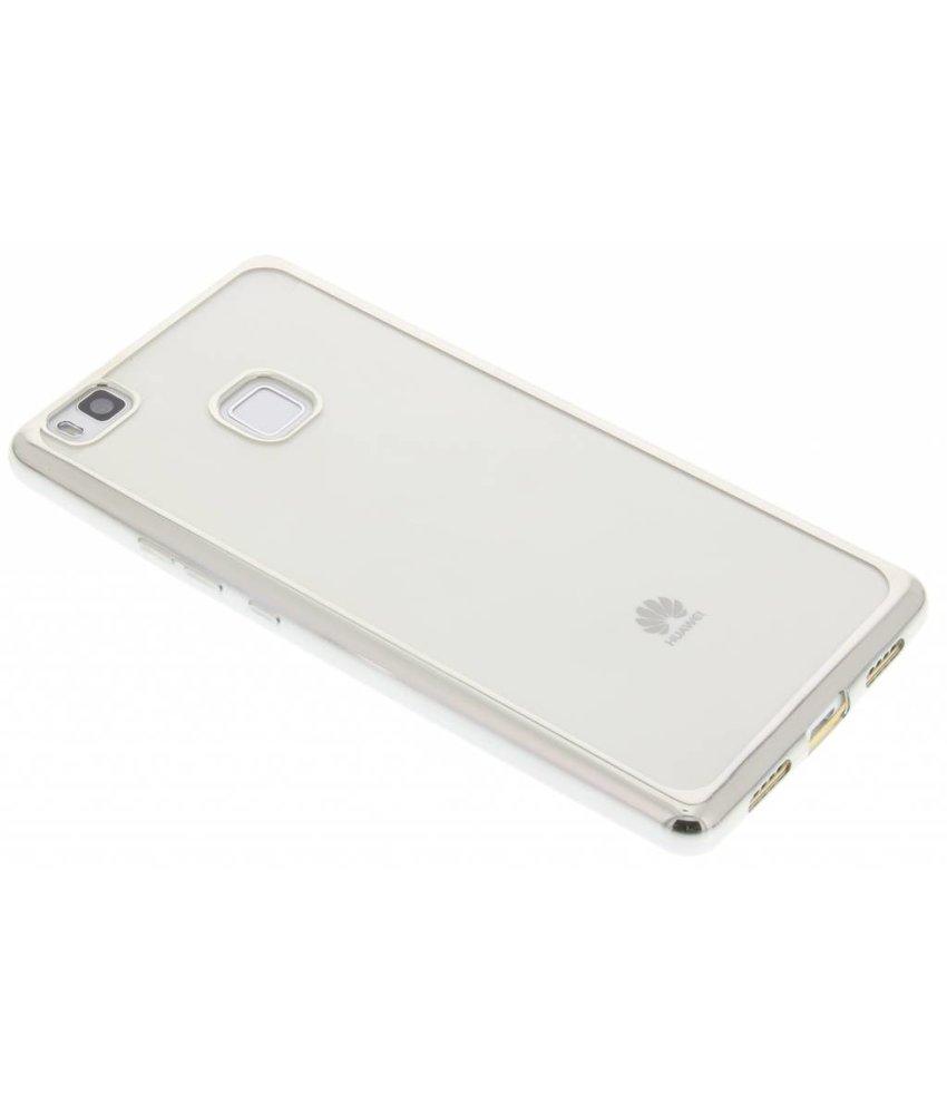TPU hoesje met metallic rand Huawei P9 Lite