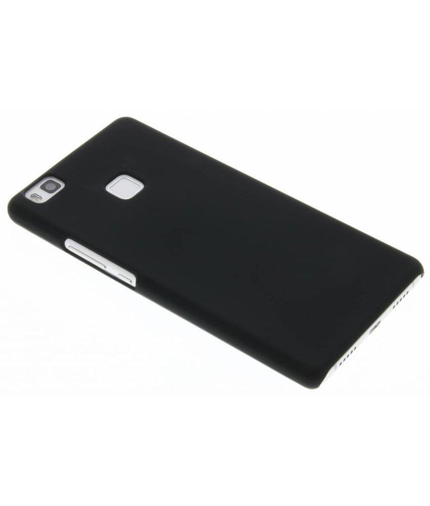 Zwart effen hardcase hoesje Huawei P9 Lite