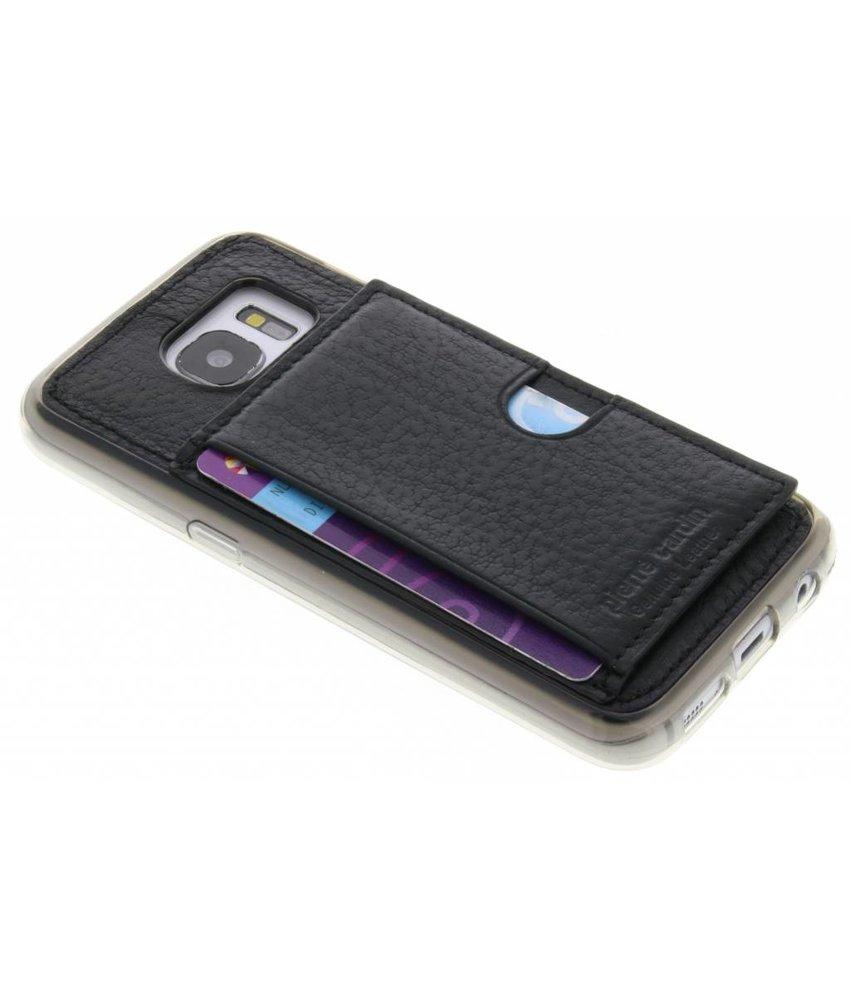 Pierre Cardin Silicone Case Samsung Galaxy S7 - Zwart