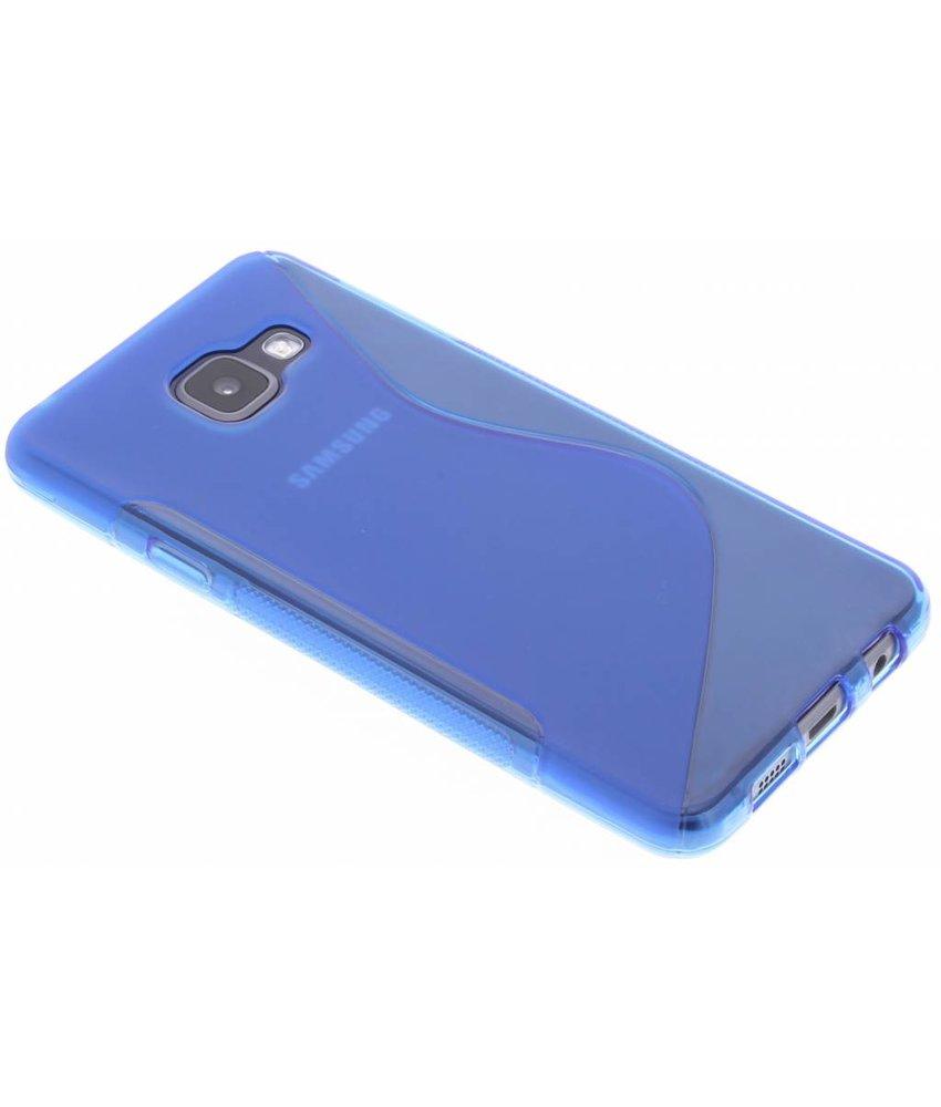 Blauw S-line TPU hoesje Samsung Galaxy A3 (2016)