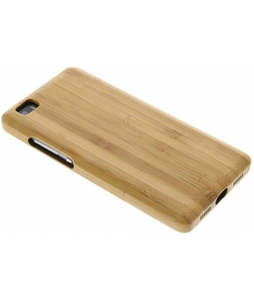 Echt houten hardcase hoesje Huawei P8 Lite