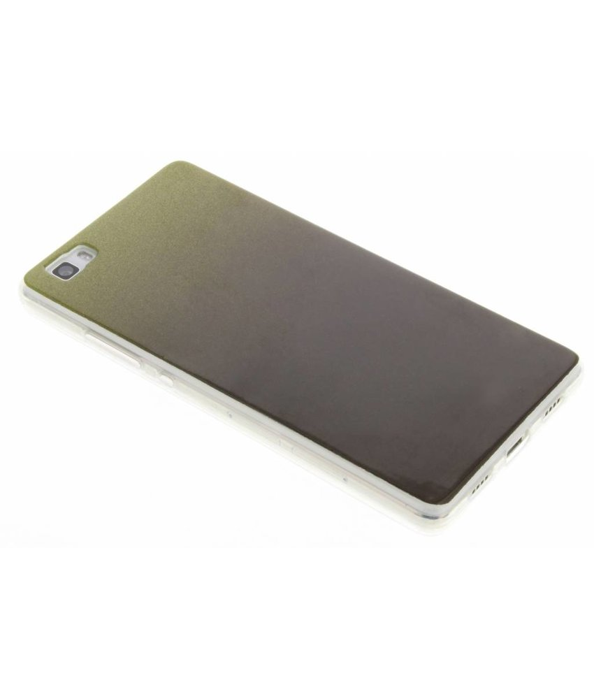 Mosgroen glitter TPU softcase Huawei P8 Lite