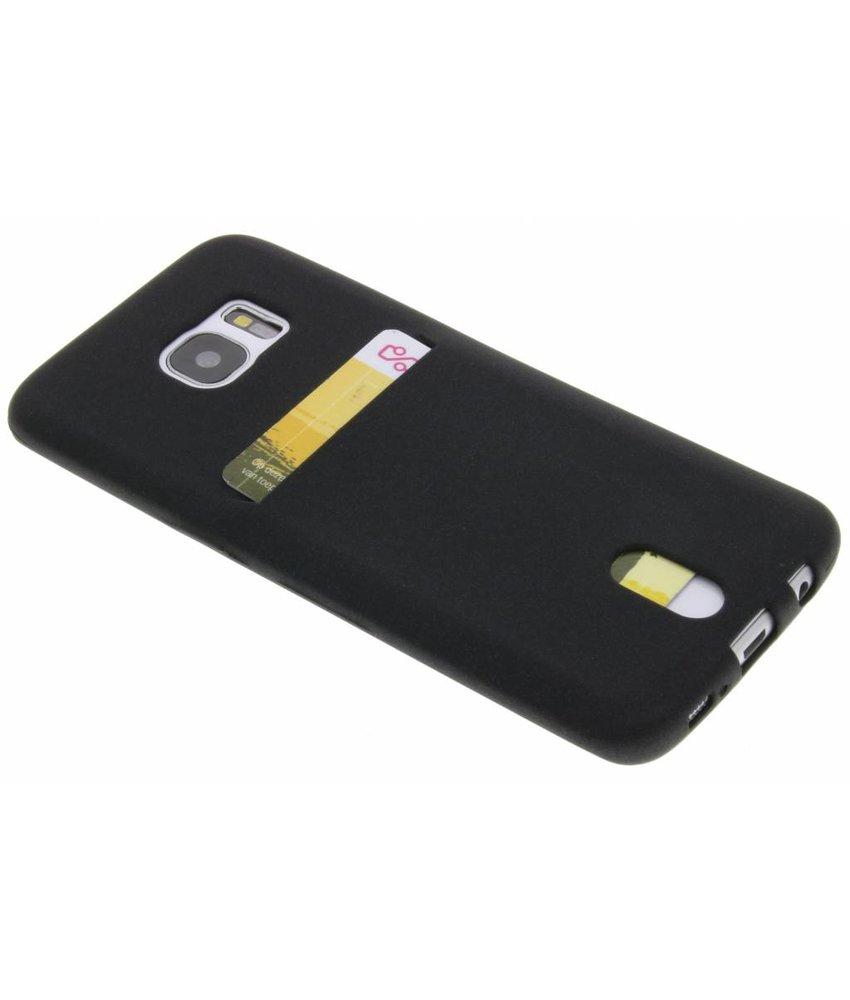 TPU Siliconen card case Samsung Galaxy S7 Edge
