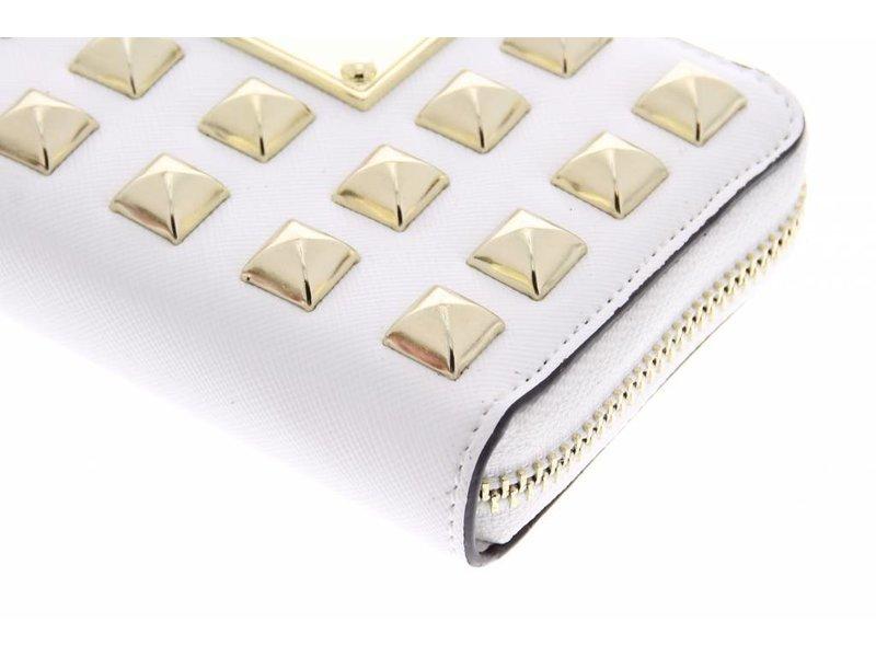 Zeer luxe universeel designer portemonnee hoesje met studs