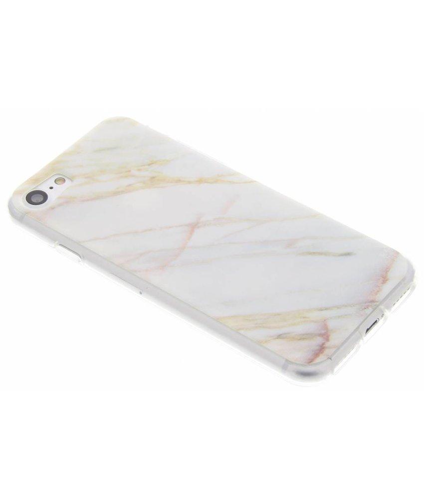 Marmer designTPU hoesje iPhone 8 / 7