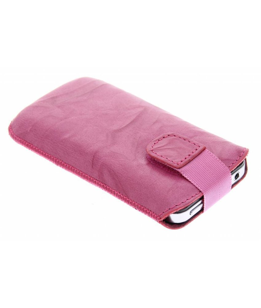 Mobiparts Uni Pouch Smoke maat L - roze