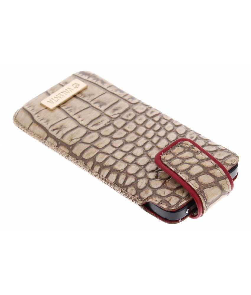 Valenta Pocket Glam iPhone 5 / 5s / SE - beige