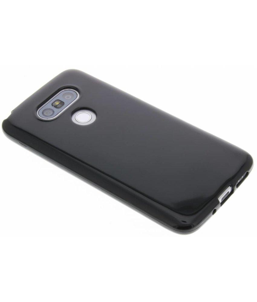 Zwart gel case LG G5 (SE)
