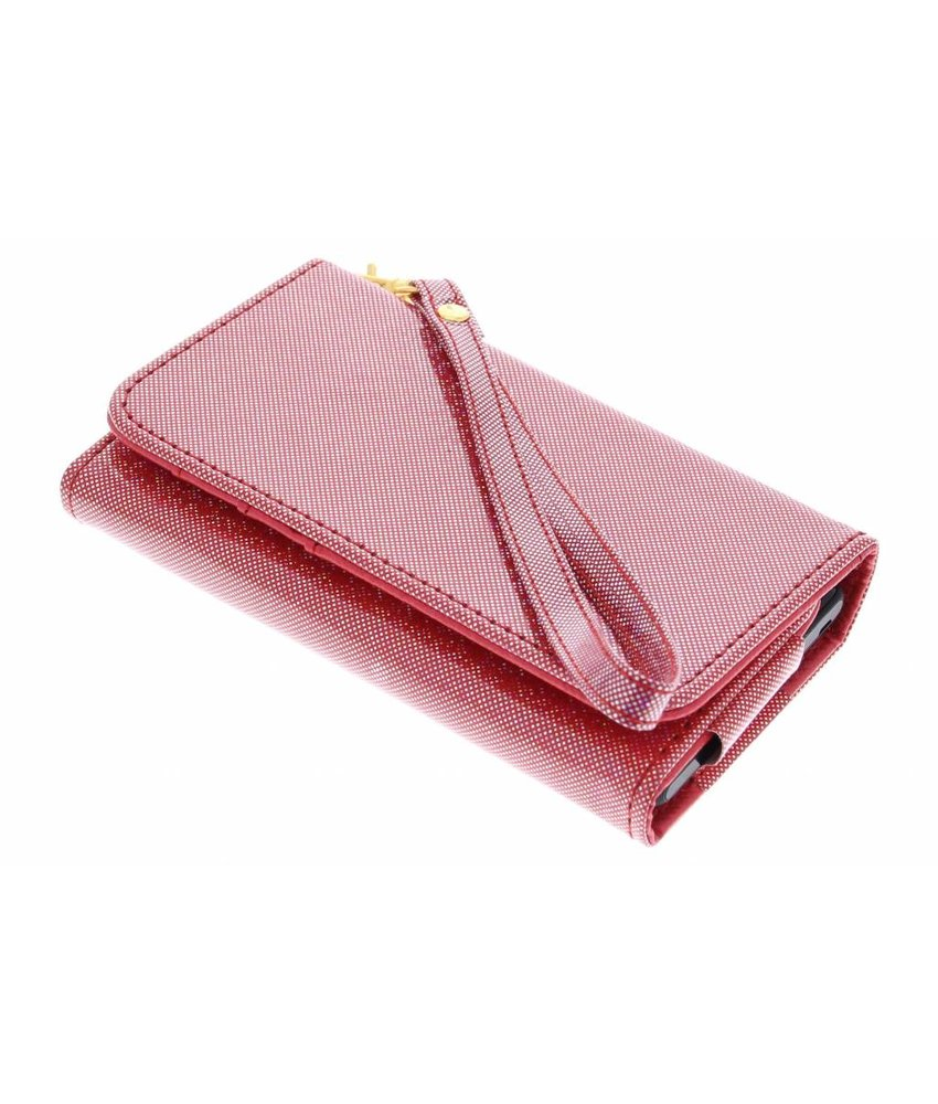 Universeel glitter portemonnee hoesje maat M