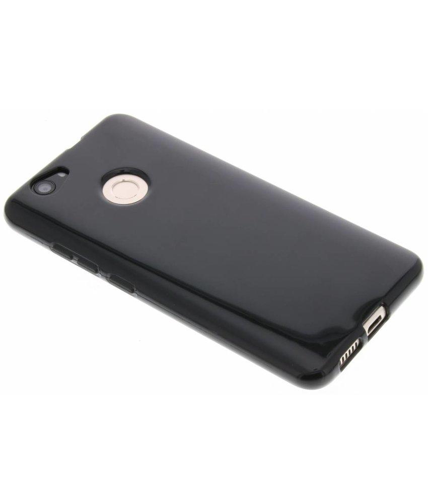 Zwart gel case Huawei Nova