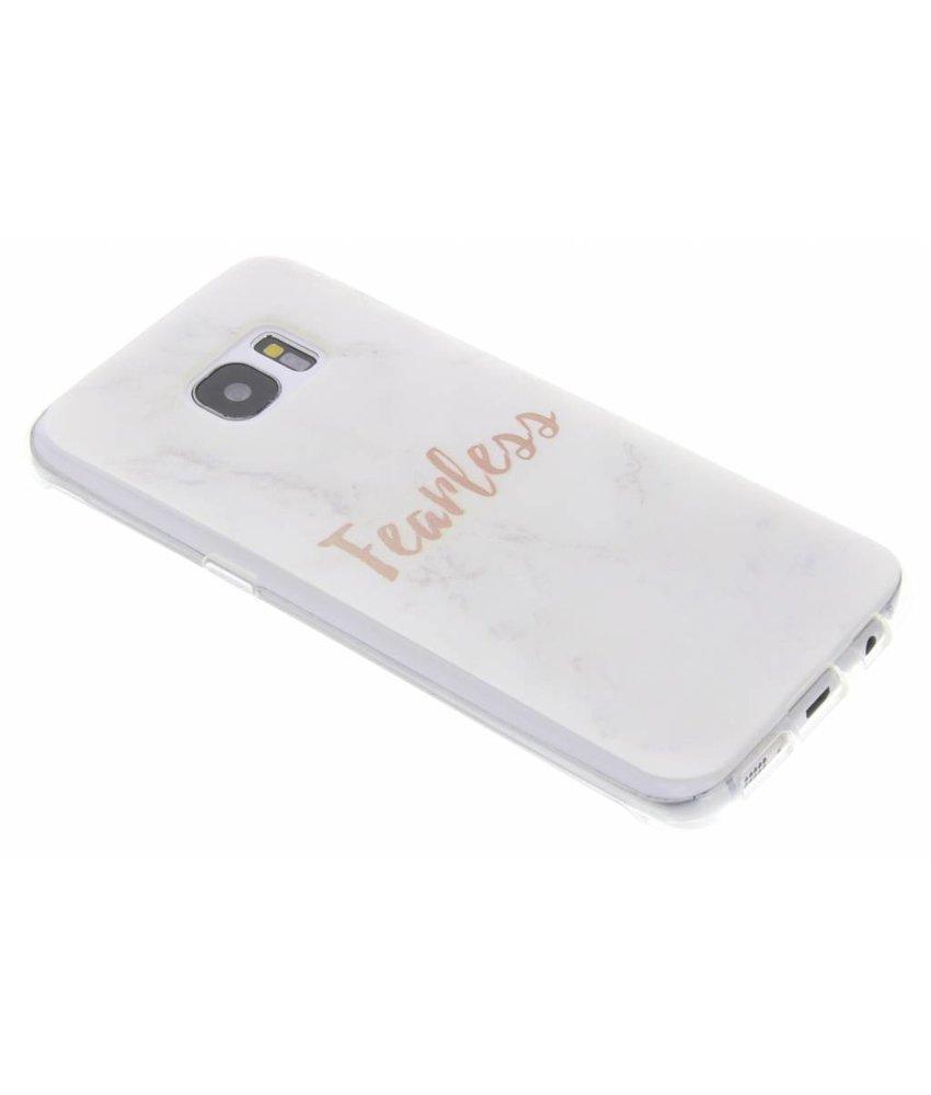 Quote design TPU hoesje Samsung Galaxy S7 Edge