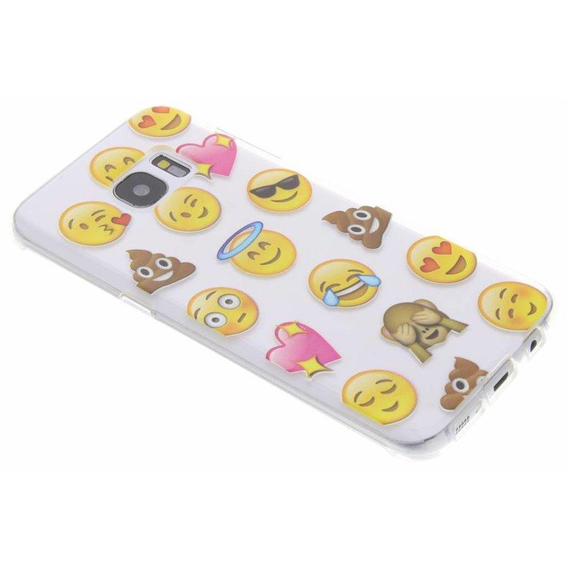 Emoji design TPU hoesje Samsung Galaxy S7 Edge