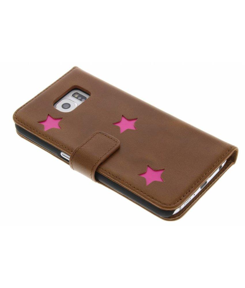 Fabienne Chapot Pink Reversed Star Booktype Samsung Galaxy S6