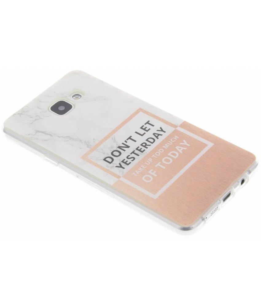 Quote design TPU hoesje Samsung Galaxy A5 (2016)