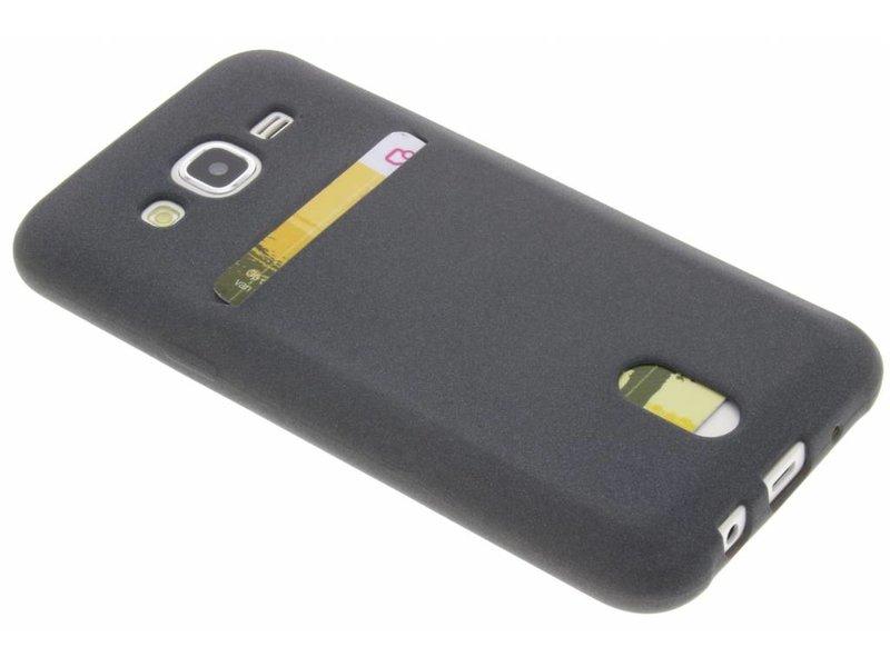 Gris Tpu Carte Silicone Pour Samsung Galaxy S4 78OBizS