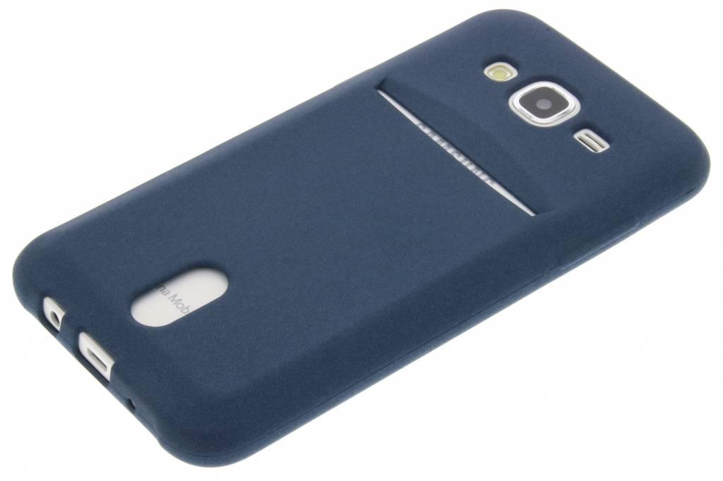 Tpu Bleu Etui En Silicone Pour Samsung Galaxy Carte J5 THriu