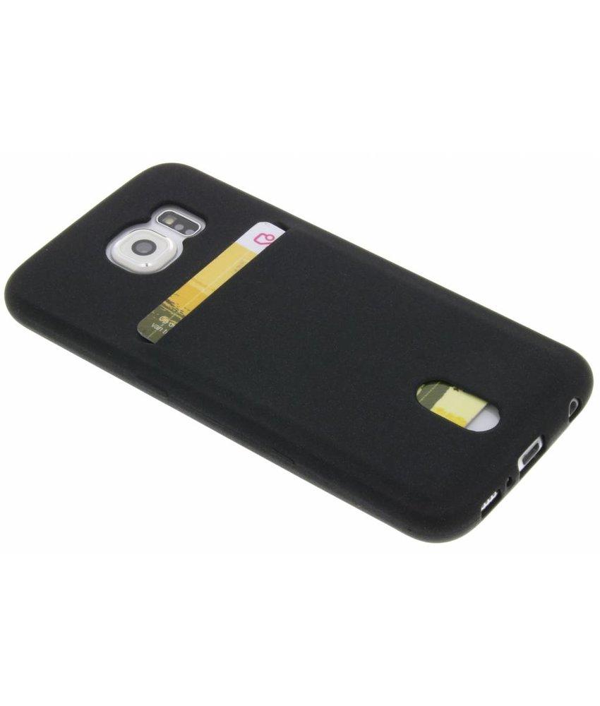 TPU siliconen card case Samsung Galaxy S6