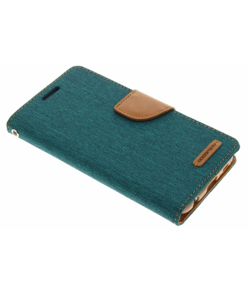 Mercury Goospery Canvas Diary Case Samsung Galaxy S6