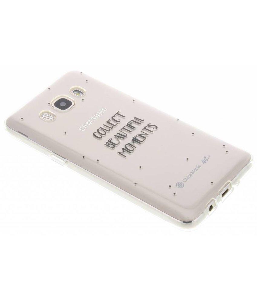 Quote design TPU hoesje Samsung Galaxy J5 (2016)