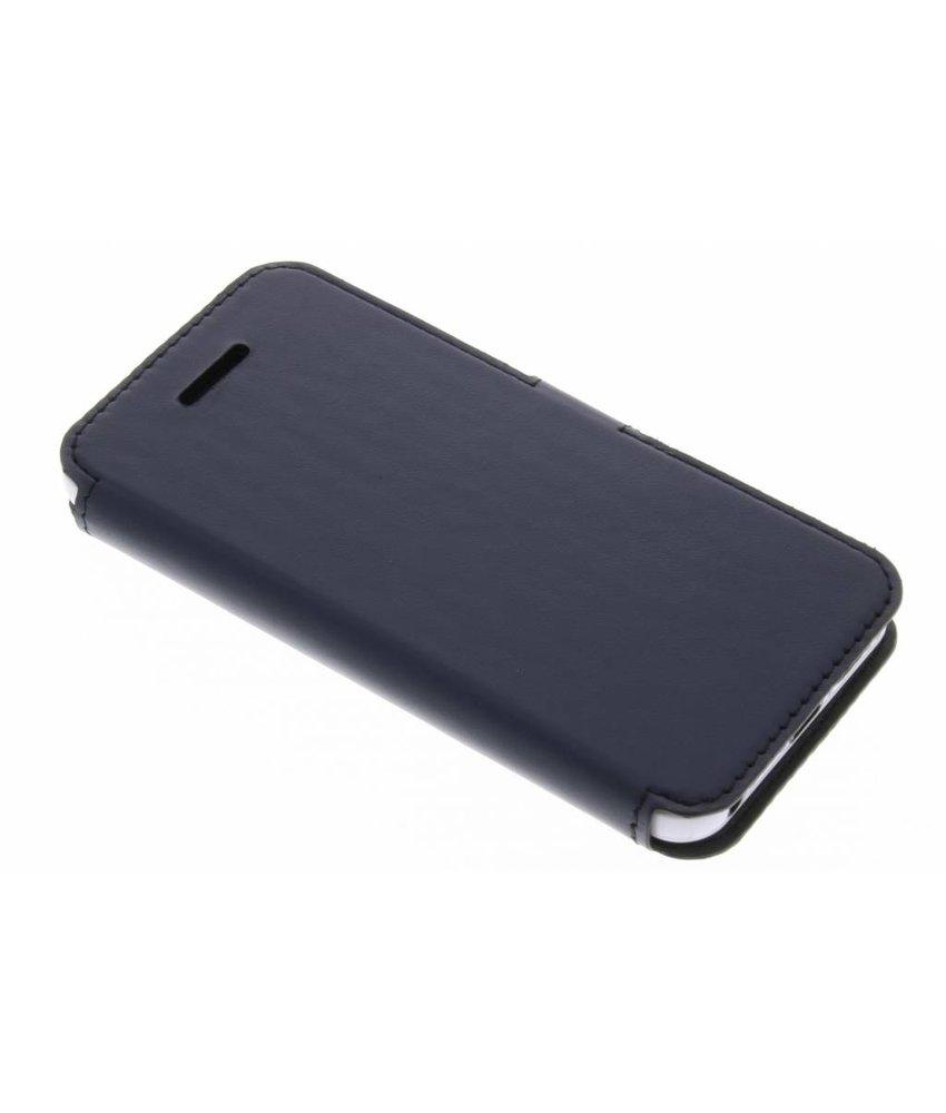 Valenta Blauw Booklet Slim Classic iPhone 5 / 5s / SE / 5c
