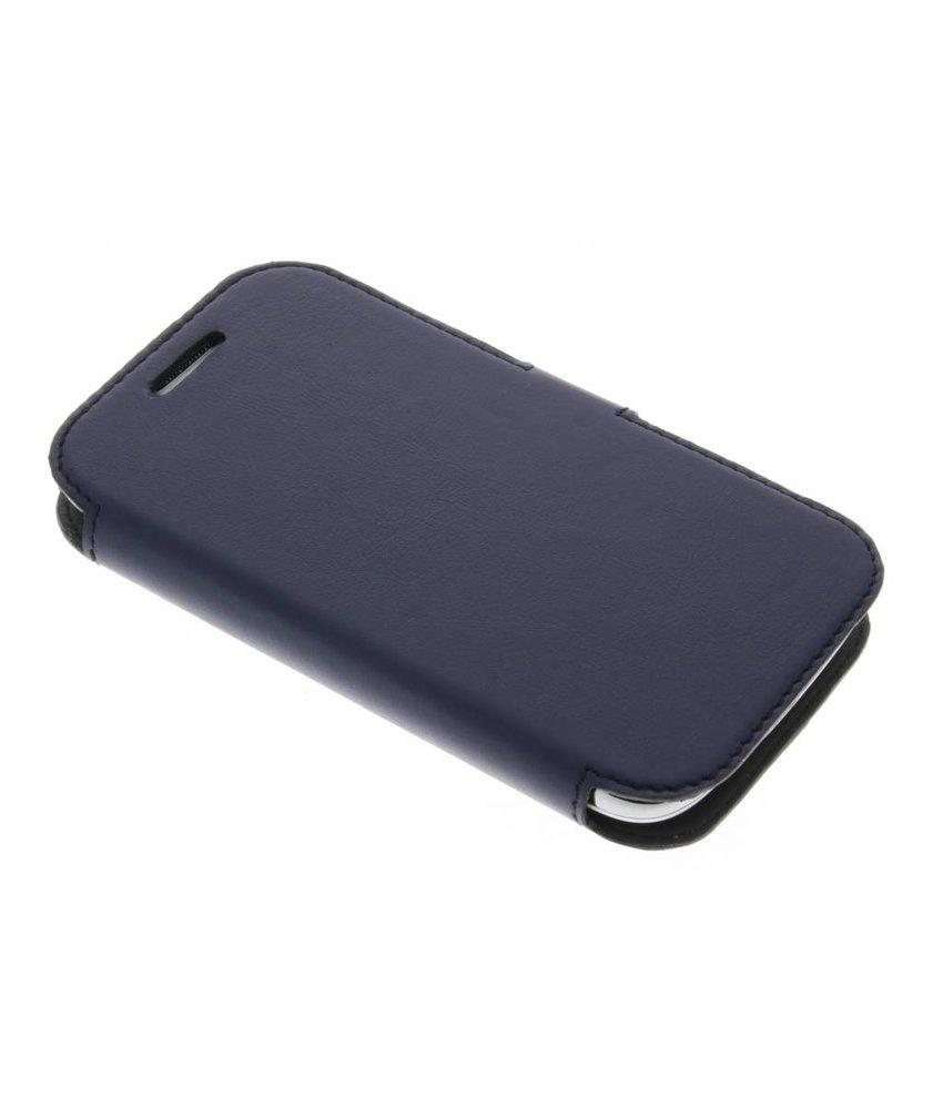 Valenta Booklet Slim Classic Samsung Galaxy Core - Blue
