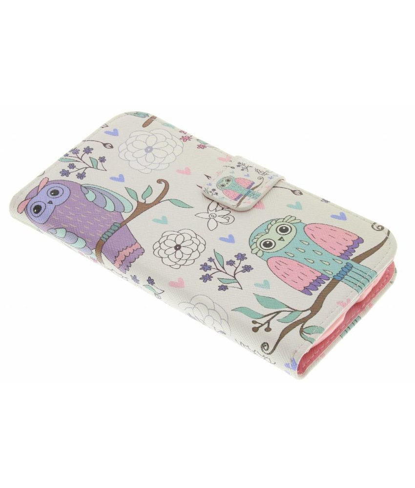 Design TPU booktype hoes Samsung Galaxy S3 (Neo)