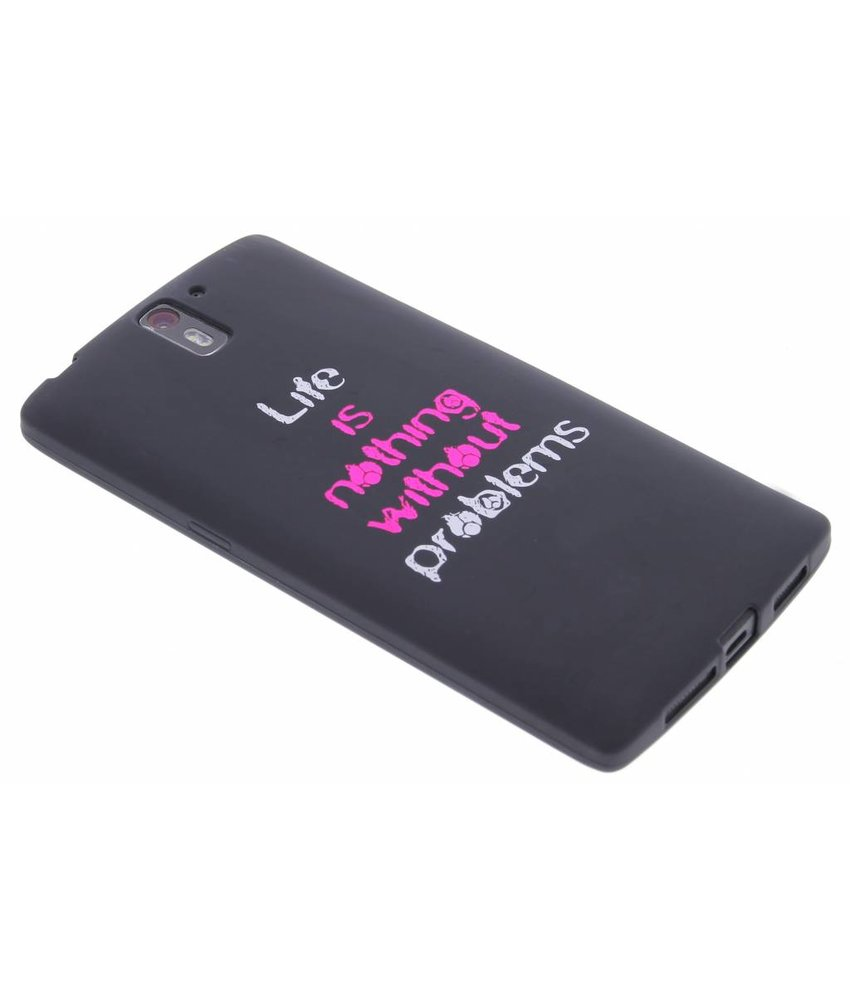 Glow in the dark TPU case OnePlus One