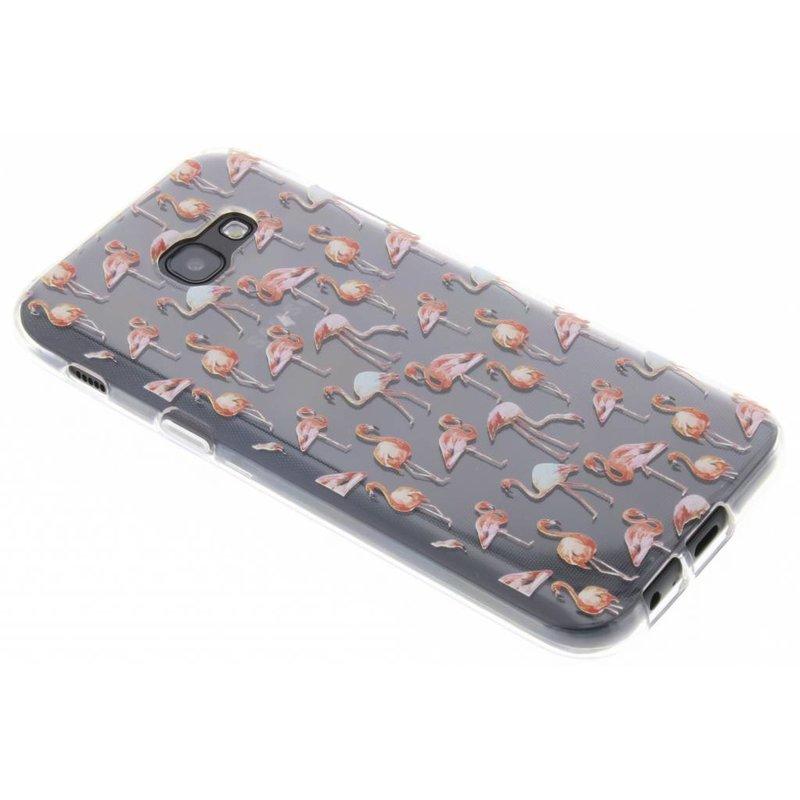 Flamingo design TPU hoesje Samsung Galaxy A5 (2017)