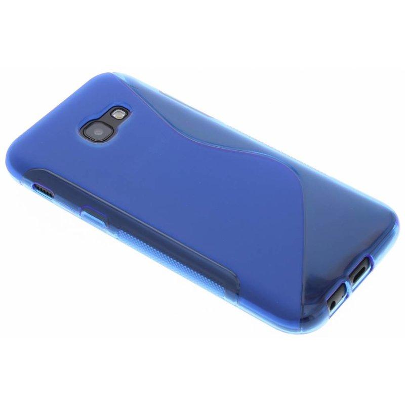 Blauw S-line TPU hoesje voor de Samsung Galaxy A5 (2017)
