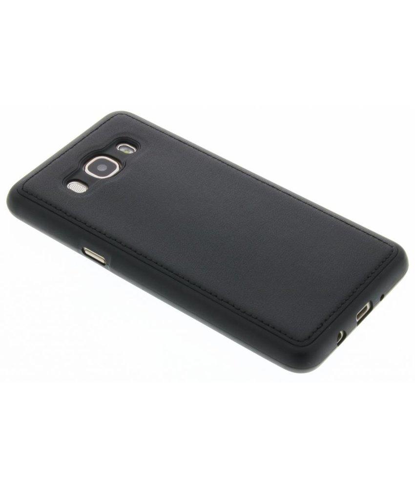 Lederen TPU Case Samsung Galaxy J5 (2016)